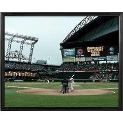 Seattle Mariners Personalized Scoreboard 16x20 Framed Canvas