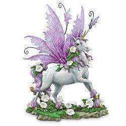 Glow-in-the-Dark Unicorn Figurine