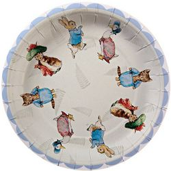 "Peter Rabbit 7"" Party Plates"