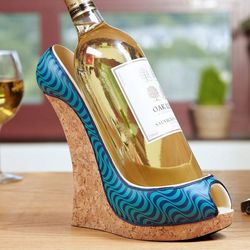 Ocean Wave Shoe Wine Bottle Holder