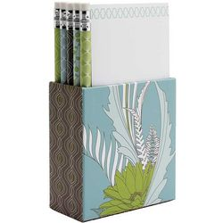 Fern Design Desk Set