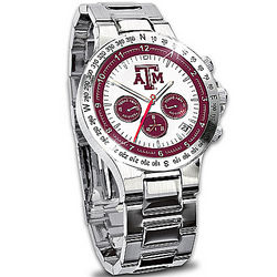 Texas A&M Aggies Commemorative Chronograph Men's Watch