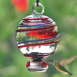 Dewdrop Barbershop Swirl Hummingbird Feeder