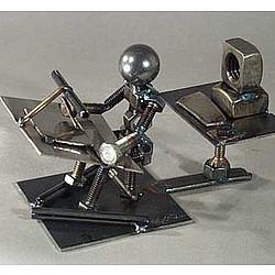 CAD Operator/Engineer Bolt Person Sculpture - FindGift.com