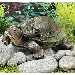 Strolling Turtles Garden Statue