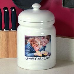 Personalized Ceramic Cookie Jar with Air-tight Lid