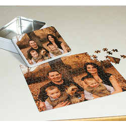 Photo Personalized 252 Piece Puzzle and Presentation Tin