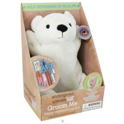 Polar Bear Endangered Species Groom Me Baby Essentials Kit