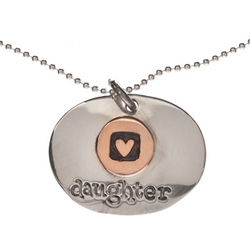 Daughter Pendant Necklace