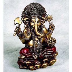 Golden Ganesha Figurine