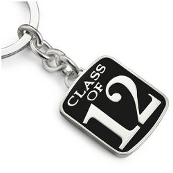 Engravable Class of 2012 Key Chain