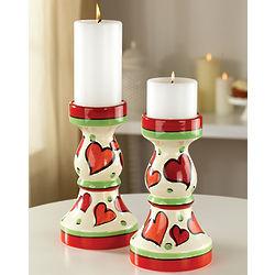 Hearts Candlesticks