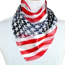 Women's Square American Flag Scarf