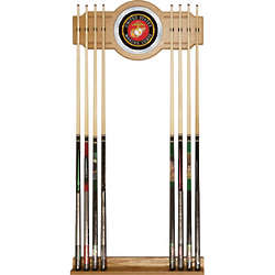 US Marine Corps Logo Billiard Cue Rack
