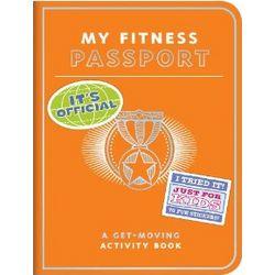 Kids My Fitness Passport Book