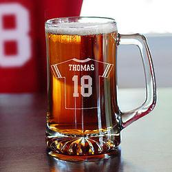 Personalized Football Jersey Mug