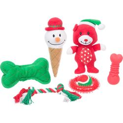 Holiday 7-Piece Gift Set for Dogs