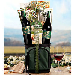 Cliffside Vineyards Hole in One Wine Basket