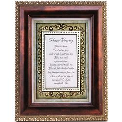 Matted and Framed House Blessing