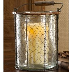 Toscana Wire Candle Holder