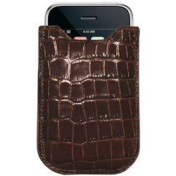 Embossed Leather Crocodile Phone Case