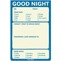Good Night Notepad