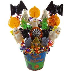 Sweet Treats Halloween Lollipops Bouquet