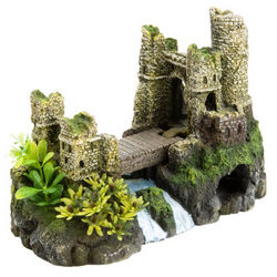 Castle Bridge Aquarium Ornament