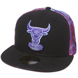 Men's Chicago Bulls Space Midder Fitted Cap