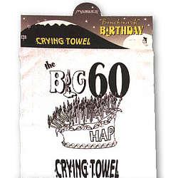 Big 60 Crying Towel