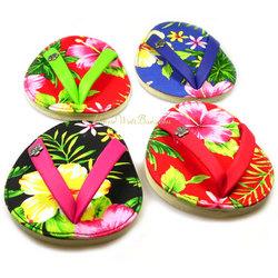 Flip Flop Hawaiian Coasters