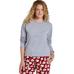 Women's Flannel Printed Pajama Set