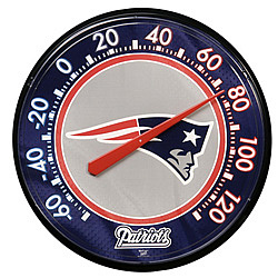 New England Patriots Navy Blue Thermometer