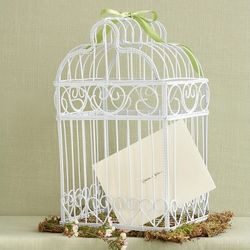 Bird Cage Money Box for the Wedding Reception