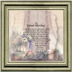A Home Blessing Calligra-Phrase