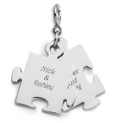 Puzzle Piece Charms