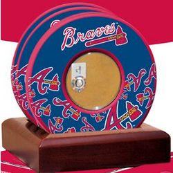 Atlanta Braves 2010 Game Used Dirt Coasters