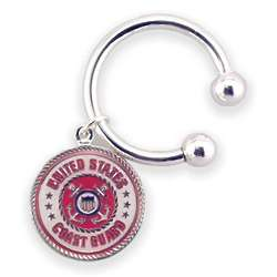 Personalized Coast Guard Key Chain