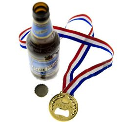 Winner Gold Medal Bottle Opener