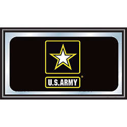 US Army Framed Mirror