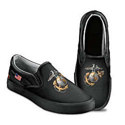 Semper Fi Men's Slip On Shoes
