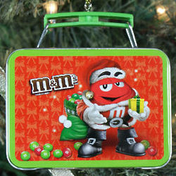 M&M Lunch Box Ornament
