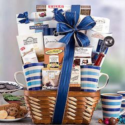 Coffee, Cocoa, and Tea Assortment Gift Basket