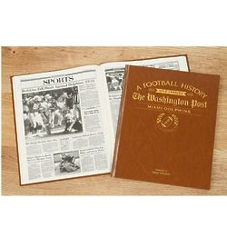 Washington Post Dolphins Fan Personalized Team Book