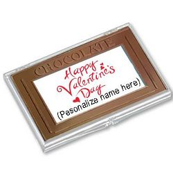 Personalized Valentine's Day Chocolate Bar