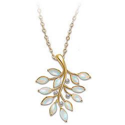 Opal Indulgence 18 Karat Gold Plated Necklace
