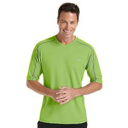 Men's Short-Sleeve UPF Fitness Shirt