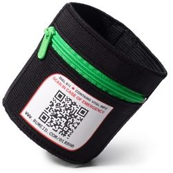 Green Sport Your ID Elastic Armband