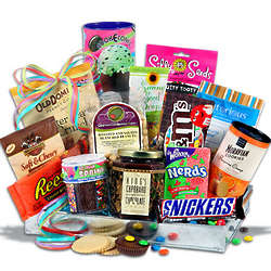 Kid's Ice Cream Party Gift Basket