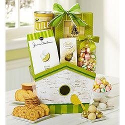 Bloomin Spring Birdhouse Gift Basket